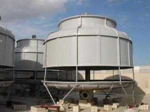 大型圆形冷却塔