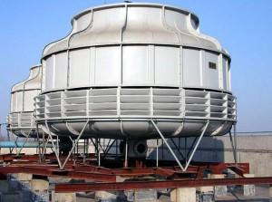江苏圆形逆流玻璃钢冷却塔